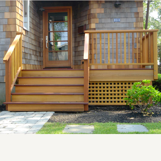 decks and stairs